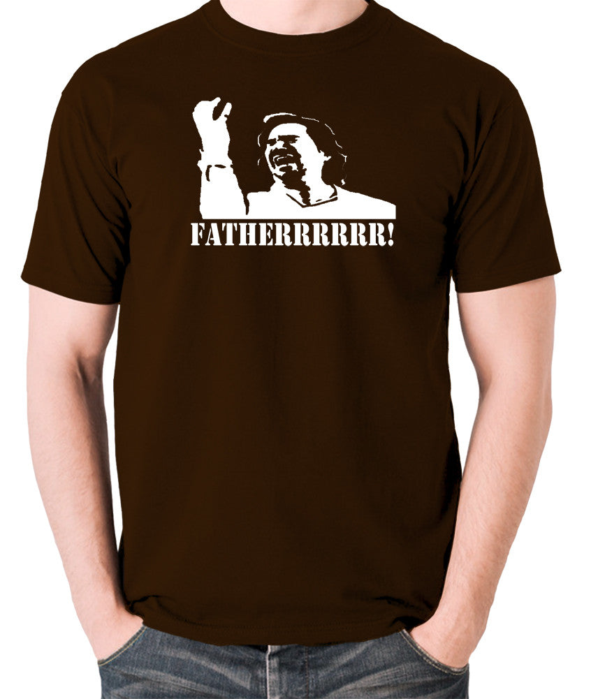 IT Crowd - Douglas, Fatherrrrr - Men's T Shirt - chocolate