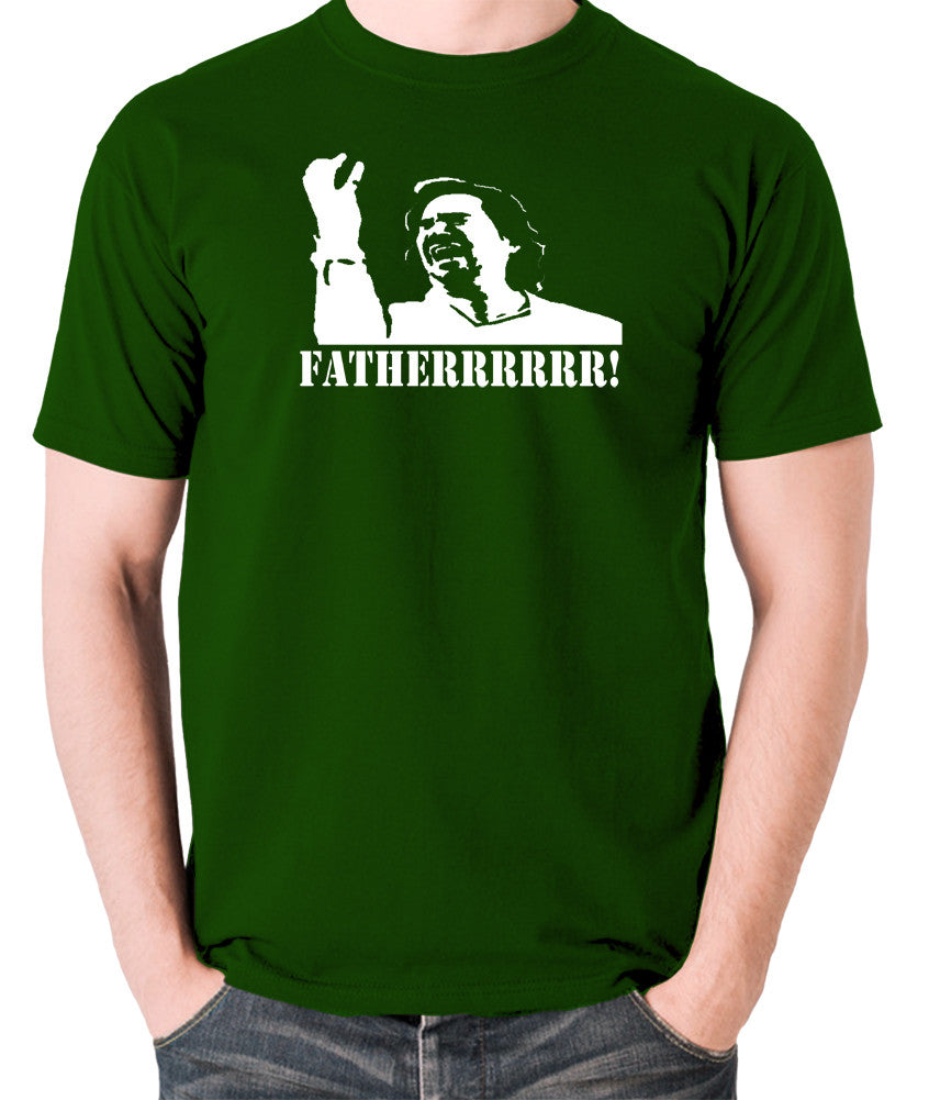 IT Crowd - Douglas, Fatherrrrr - Men's T Shirt - green