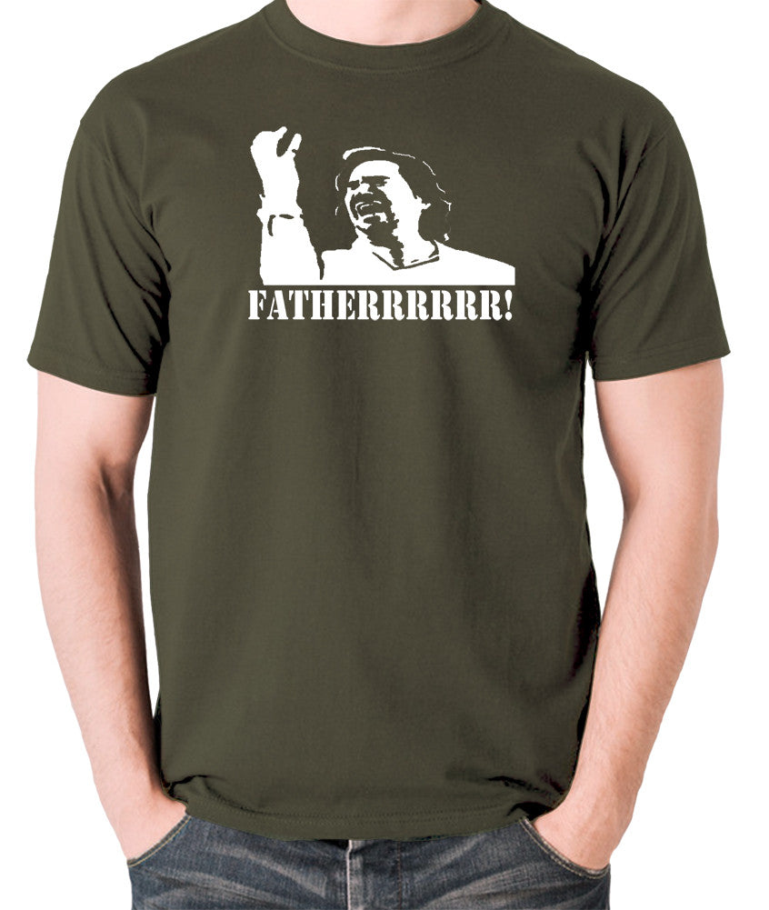 IT Crowd - Douglas, Fatherrrrr - Men's T Shirt - olive