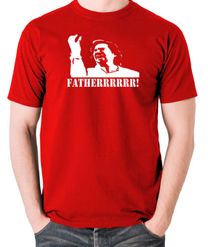 IT Crowd - Douglas, Fatherrrrr - Men's T Shirt - red