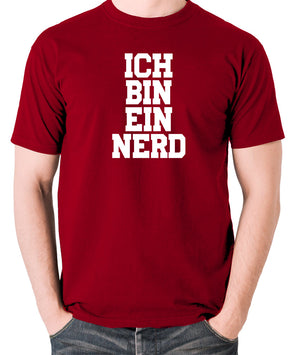 IT Crowd - Ich Bin Ein Nerd - Men's T Shirt - brick red