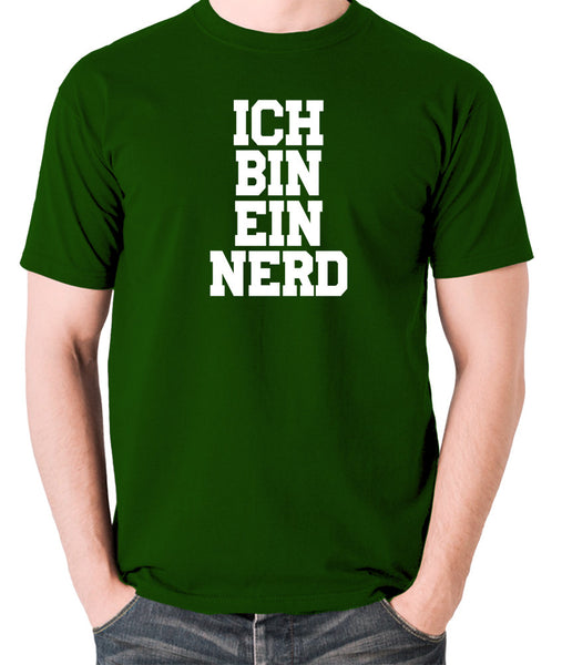 IT Crowd - Ich Bin Ein Nerd - Men's T Shirt - green
