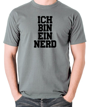 IT Crowd - Ich Bin Ein Nerd - Men's T Shirt - grey