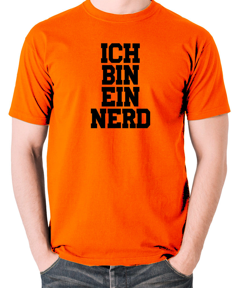 IT Crowd - Ich Bin Ein Nerd - Men's T Shirt - orange
