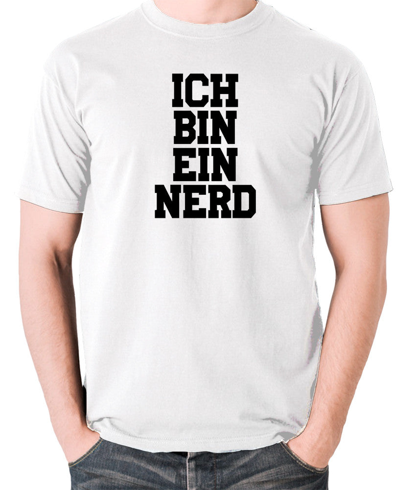 IT Crowd - Ich Bin Ein Nerd - Men's T Shirt - white