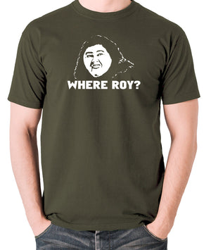 IT Crowd - Judy, Where Roy? - Men's T Shirt - olive