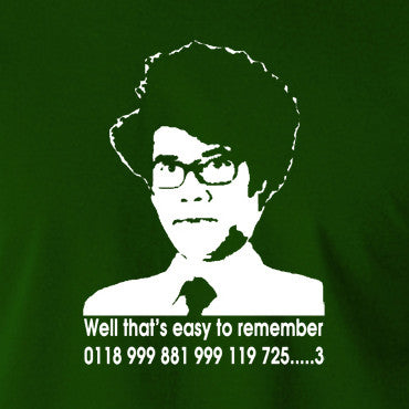 IT Crowd - Moss, Well That's Easy To Remember - Men's T Shirt