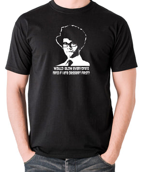 IT Crowd - Moss, Would I Blow Everyone's Mind If I Ate Dessert First? - Men's T Shirt - black