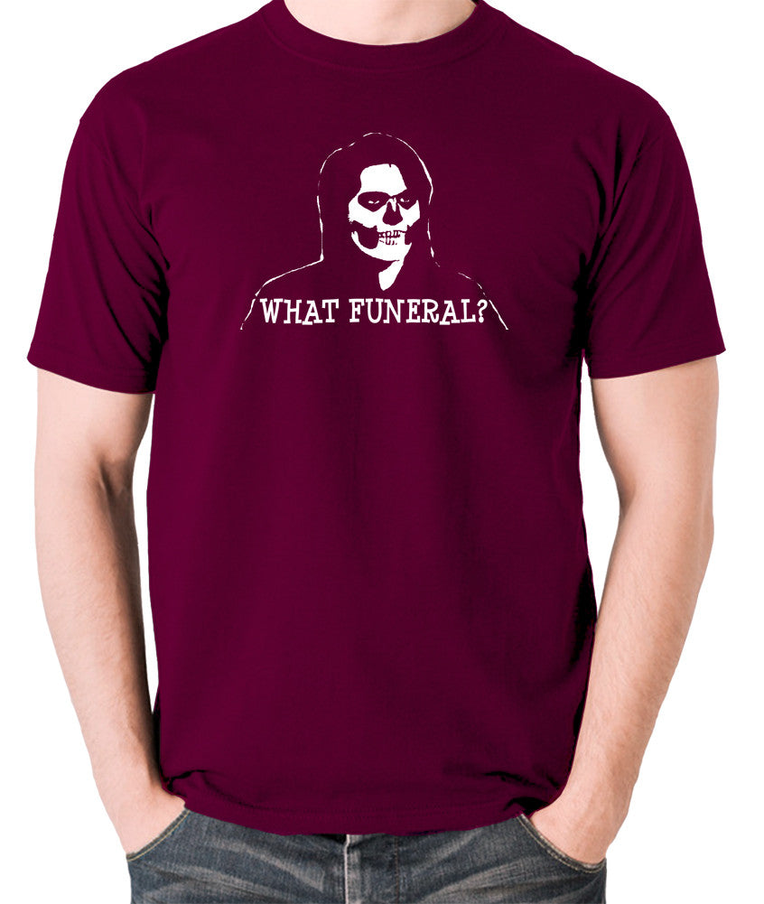 IT Crowd - Richmond, What Funeral? - Men's T Shirt - burgundy