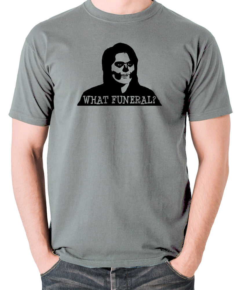 IT Crowd - Richmond, What Funeral? - Men's T Shirt - grey