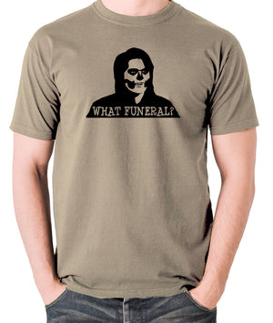 IT Crowd - Richmond, What Funeral? - Men's T Shirt - khaki
