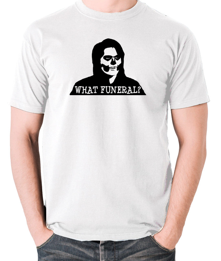 IT Crowd - Richmond, What Funeral? - Men's T Shirt - white