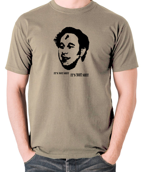 IT Crowd - Roy, It's Not Shit - Men's T Shirt - khaki