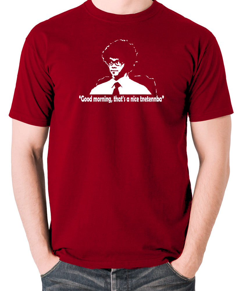 IT Crowd - Good Morning That's A Nice Tnetennba - Men's T Shirt - brick red
