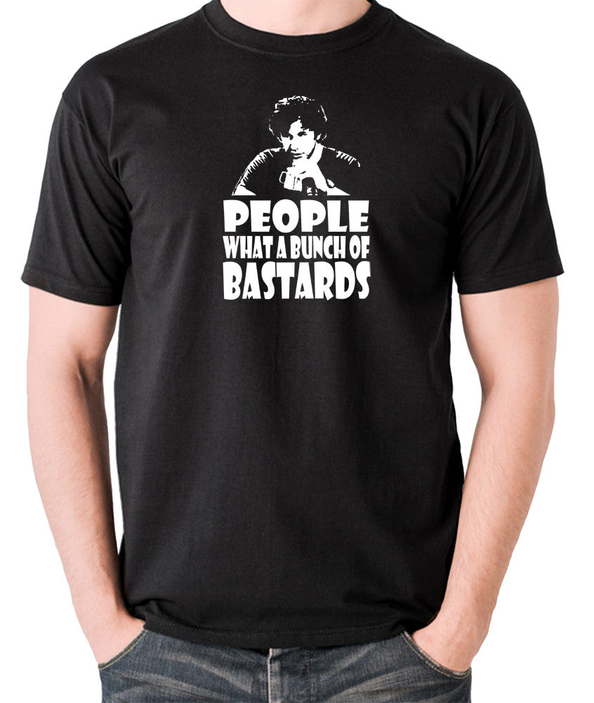 IT Crowd - Roy, People What A Bunch Of Bastards - Men's T Shirt - black