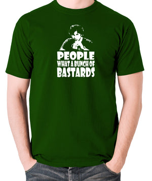 IT Crowd - Roy, People What A Bunch Of Bastards - Men's T Shirt - green