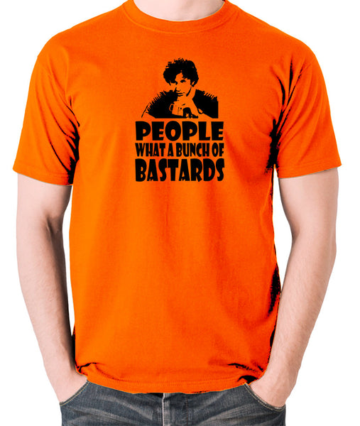 IT Crowd - Roy, People What A Bunch Of Bastards - Men's T Shirt - orange