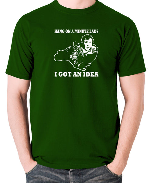 The Italian Job - Charlie, Hang On A Minute Lads - Men's T Shirt - green