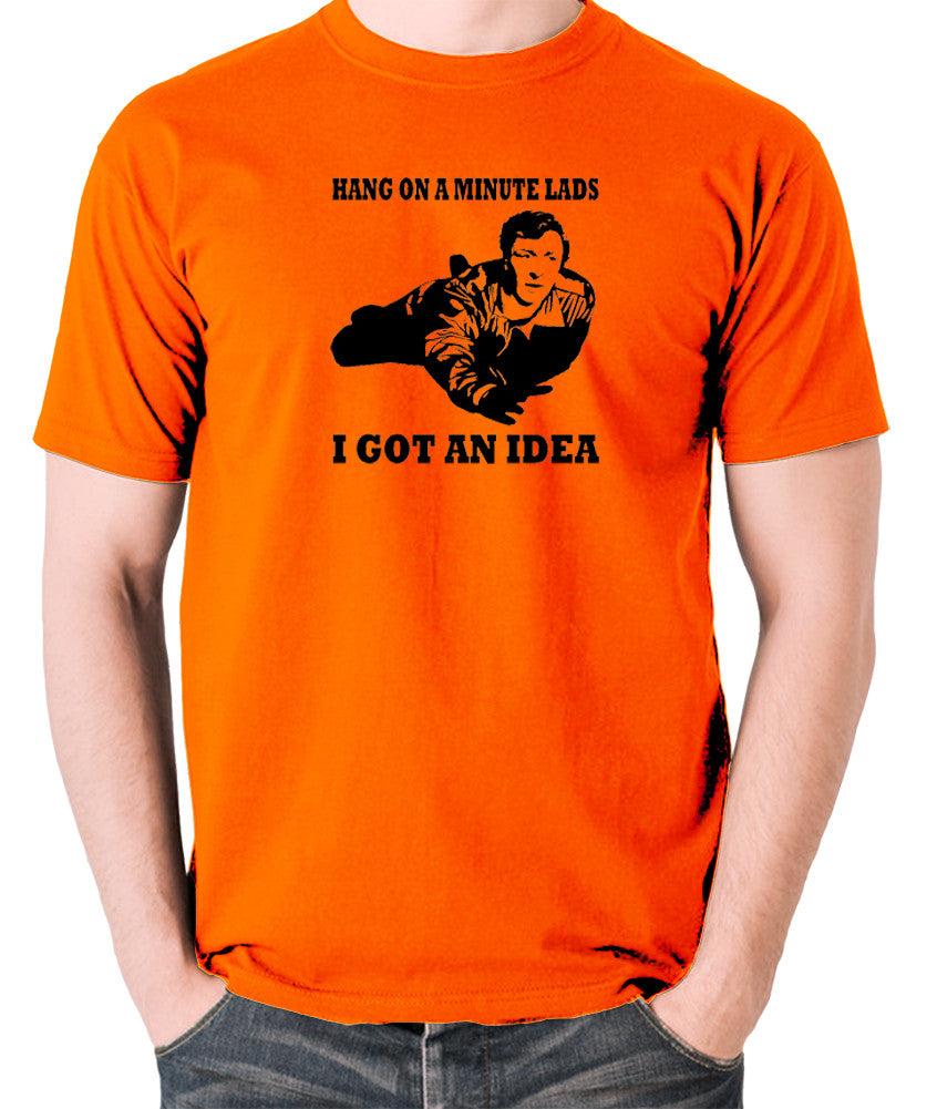 The Italian Job - Charlie, Hang On A Minute Lads - Men's T Shirt - orange