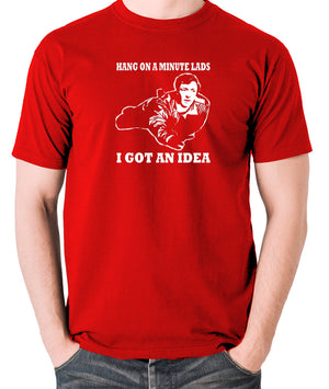 The Italian Job - Charlie, Hang On A Minute Lads - Men's T Shirt - red