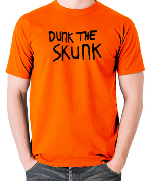 The Last Man On Earth - Dunk the Skunk - Men's T Shirt - orange