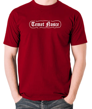 The Matrix - Temet Nosce - Men's T Shirt - brick red