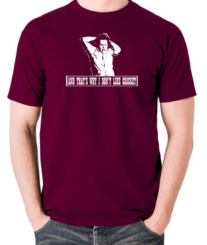 The Mighty Boosh - Bob Fossil, And That's Why I Don't Like Cricket - Men's T Shirt - burgundy