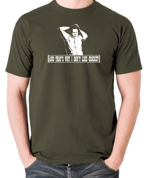The Mighty Boosh - Bob Fossil, And That's Why I Don't Like Cricket - Men's T Shirt - olive