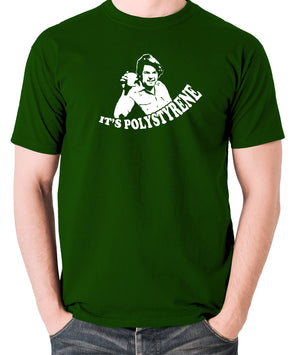 The Mighty Boosh - Bob Fossil, It's Polystyrene - Men's T Shirt - green