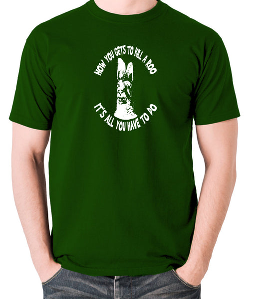 The Mighty Boosh - How You Gets To Killeroo - Men's T Shirt - green