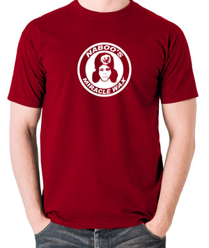 The Mighty Boosh - Naboo's Miracle Wax - Men's T Shirt - brick red