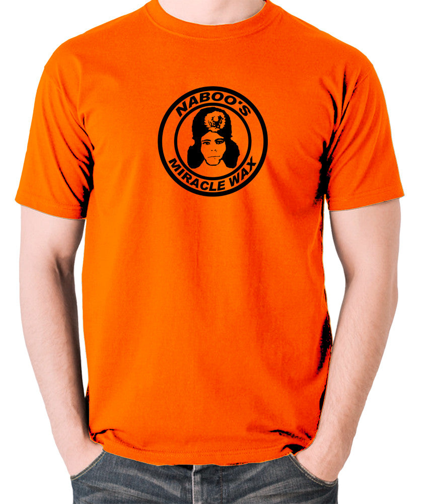 The Mighty Boosh - Naboo's Miracle Wax - Men's T Shirt - orange