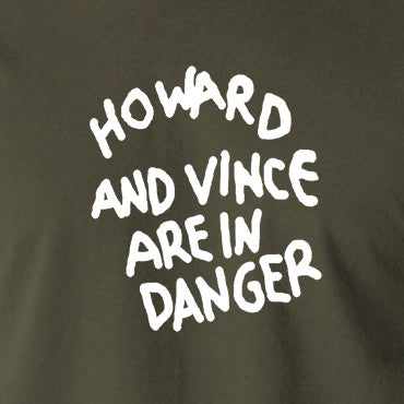 The Mighty Boosh - Howard And Vince Danger - Men's T Shirt