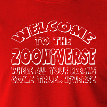 The Mighty Boosh - Welcome To The Zooniverse - Men's T Shirt