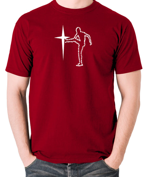 The Old Grey Whistle Test - Starkicker - Men's T Shirt - brick red