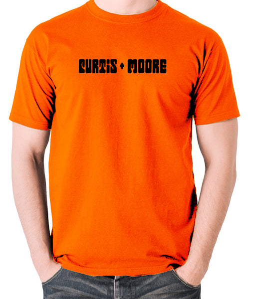 The Persuaders! - Tony Curtis And Roger Moore - Men's T Shirt - orange