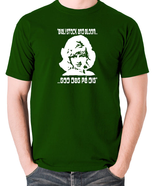 The Producers - Ulla Inga, God Dag Pa Dig - Men's T Shirt - green