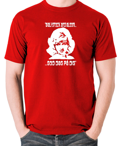 The Producers - Ulla Inga, God Dag Pa Dig - Men's T Shirt - red