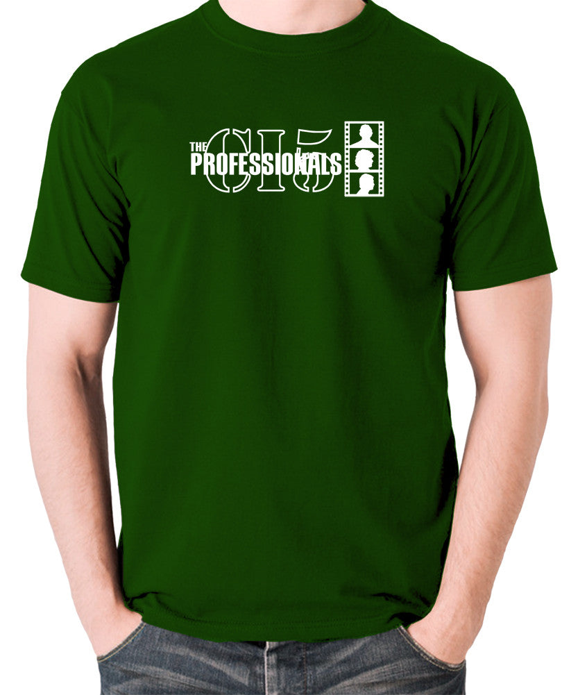 The Professionals - CI5 Bodie Doyle - Men's T Shirt - green