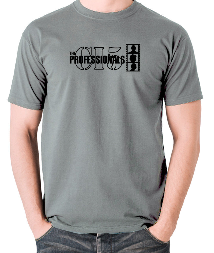 The Professionals - CI5 Bodie Doyle - Men's T Shirt - grey