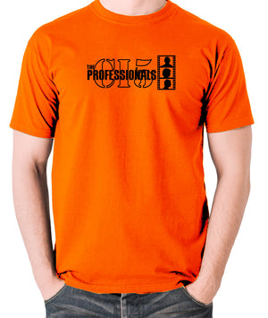 The Professionals - CI5 Bodie Doyle - Men's T Shirt - orange