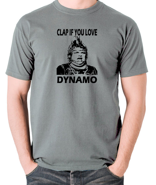The Running Man - Clap If You Love Dynamo - Men's T Shirt - grey
