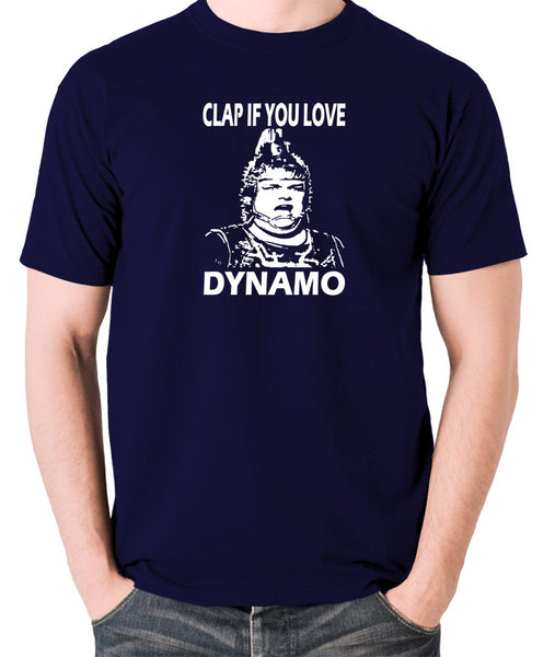 The Running Man - Clap If You Love Dynamo - Men's T Shirt - navy
