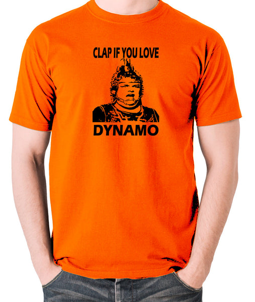 The Running Man - Clap If You Love Dynamo - Men's T Shirt - orange
