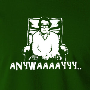 The Two Ronnies - Ronnie Corbett, Anywayyyy - Men's T Shirt