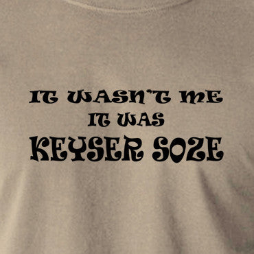 The Usual Suspects - Keyser Soze - Men's T Shirt