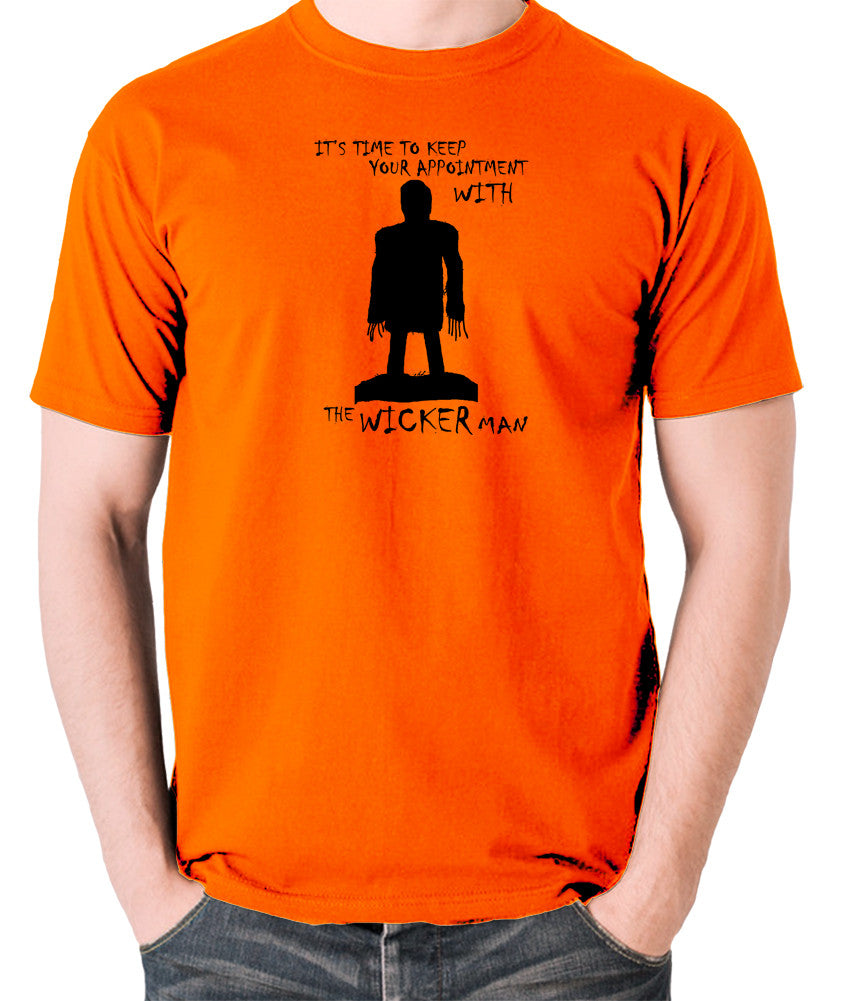 The Wicker Man - Time To Keep Your Appointment - Men's T Shirt - orange