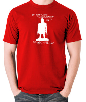 The Wicker Man - Time To Keep Your Appointment - Men's T Shirt - red