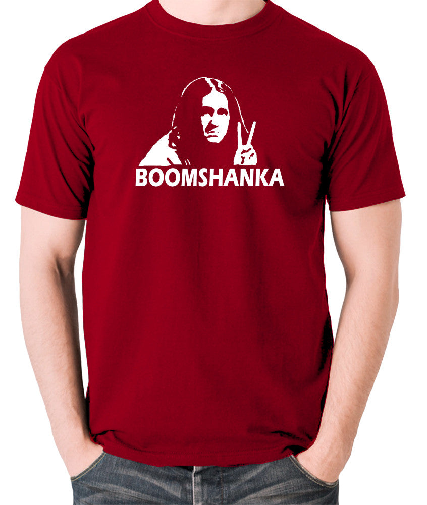 The Young Ones - Neil Boomshanka - Men's T Shirt - brick red