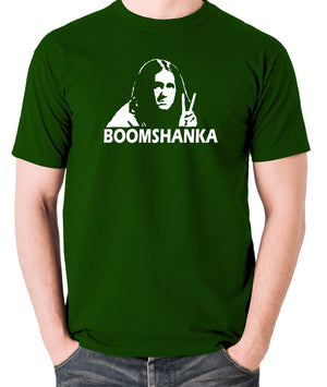 The Young Ones - Neil Boomshanka - Men's T Shirt - green